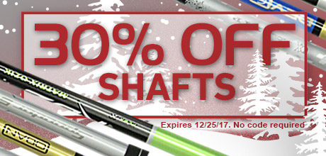 30% Off Shafts