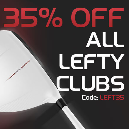35% Off Left-Handed Clubs