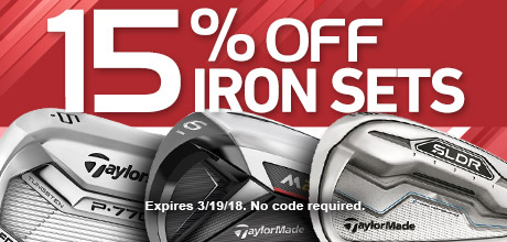 15% Off Iron Sets