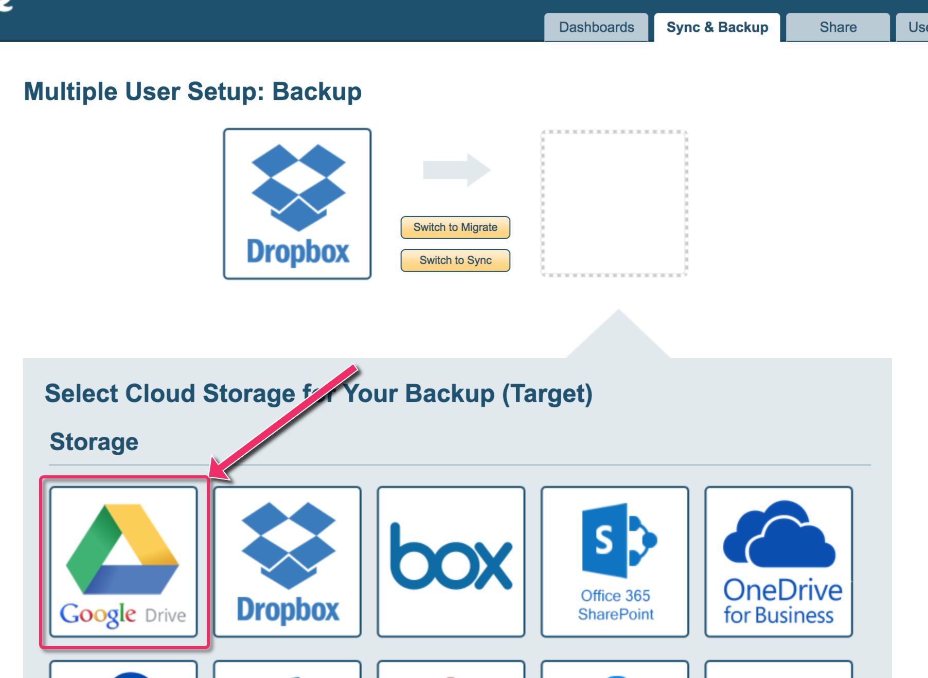 IT Admin: How to backup all Dropbox Business accounts to