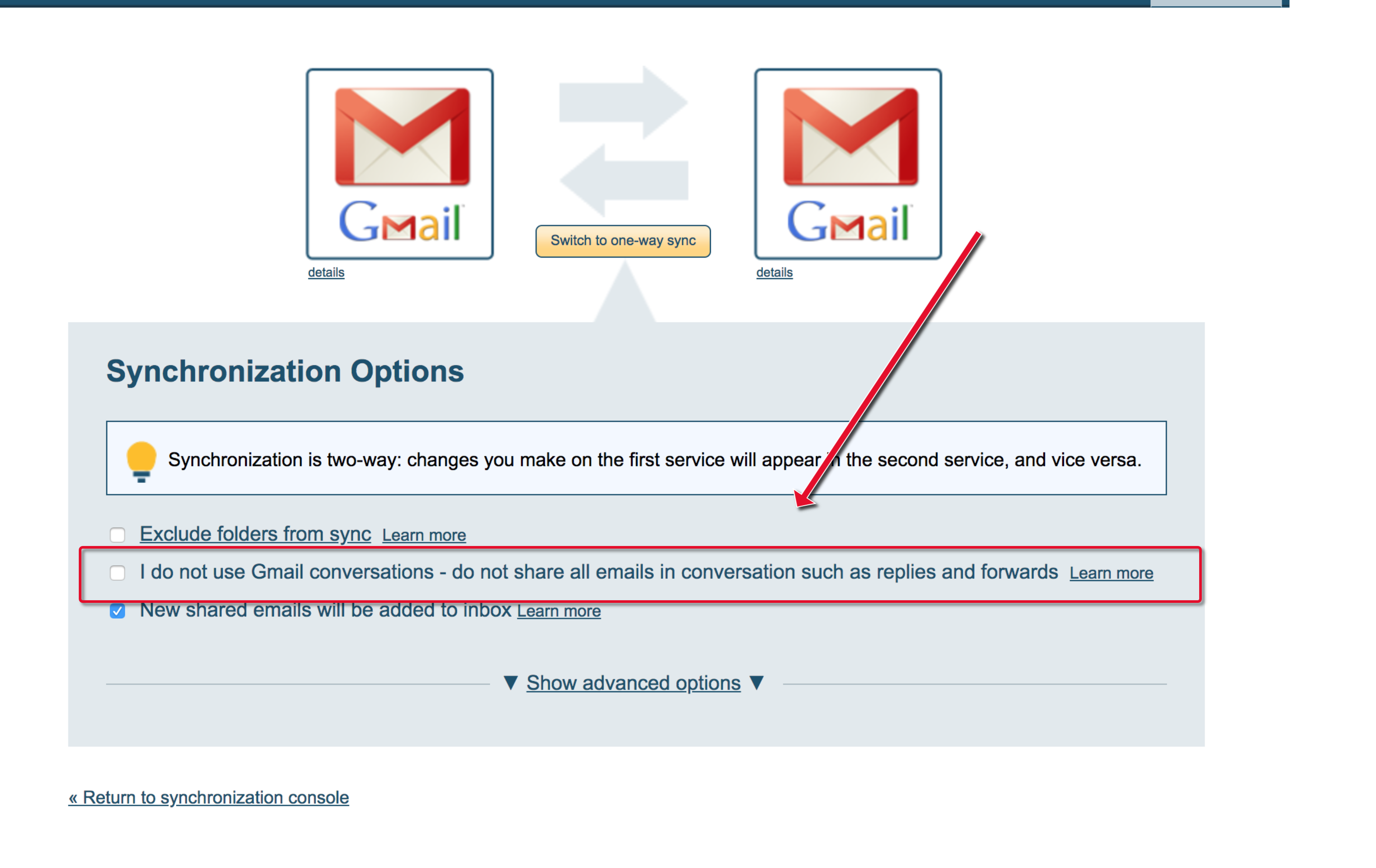 How to troubleshoot Gmail Email and Label Sharing email