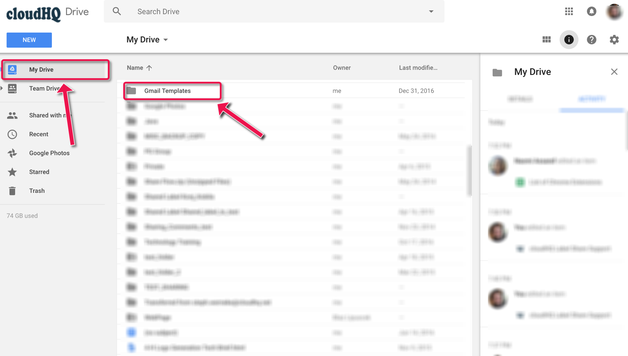 How To Edit And Modify Gmail Templates In Google Drive Cloudhq Support