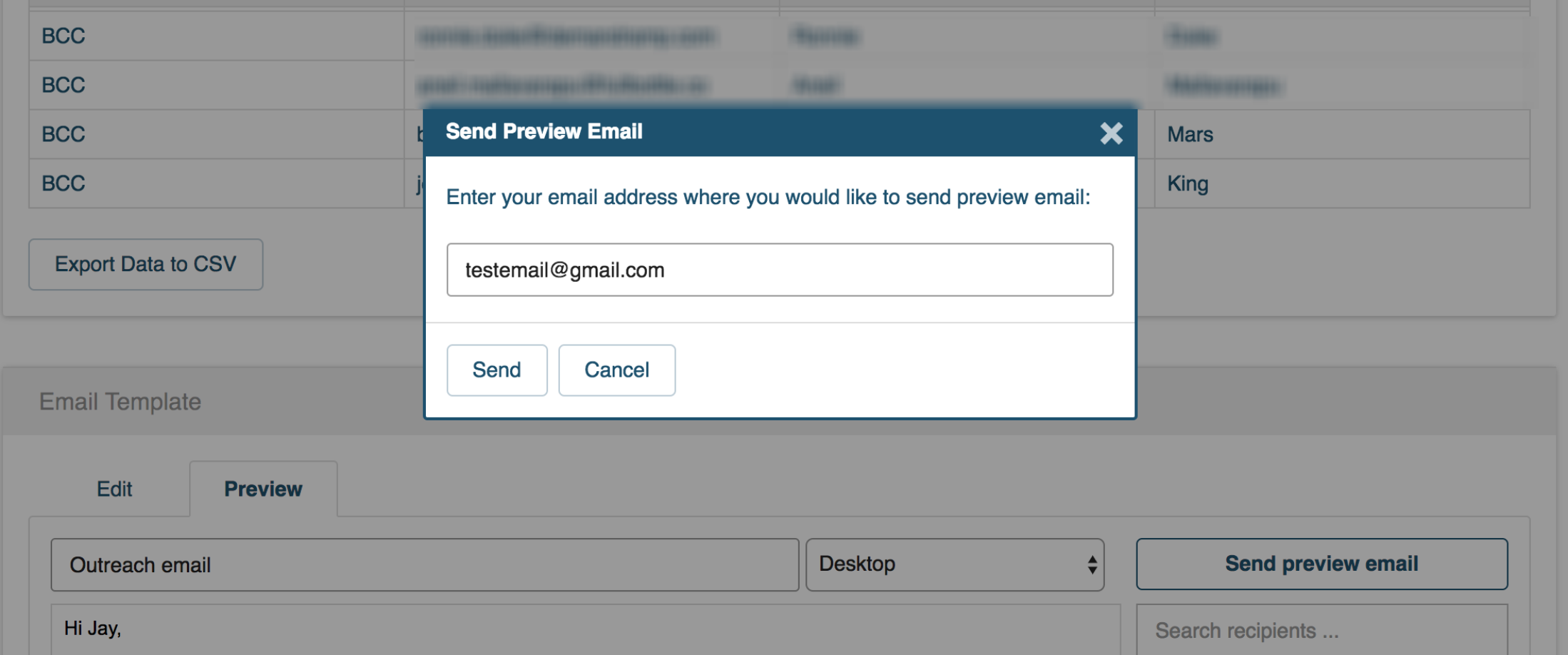 How to send preview email for your email campaign – cloudHQ Support