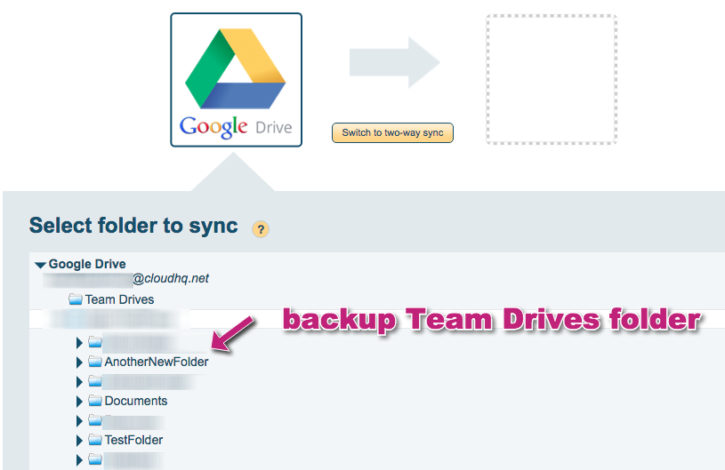 How to backup Google Team Drives – cloudHQ Support