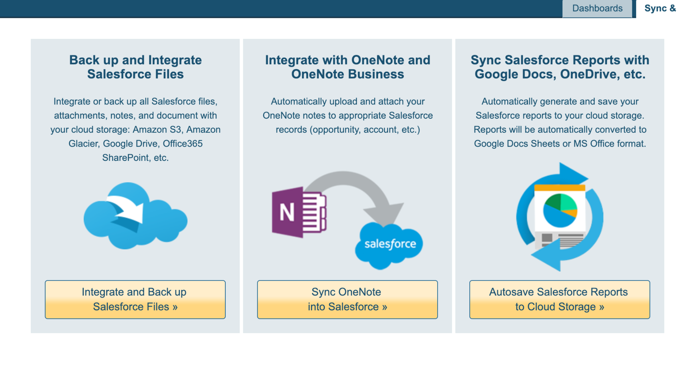 How to sync Salesforce files, attachments and notes with
