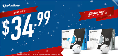 TaylorMade TP5/TP5X Price Drop - Was $44.99 Now $34.99