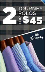Tourney Polos - 2 for $45