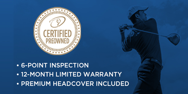 Certified PreOwned Golf Clubs