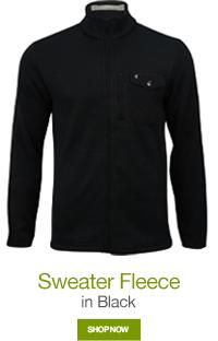 Sweater Fleece in Black