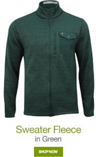Sweater Fleece in Green