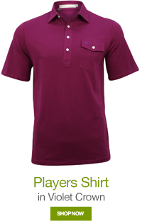 Players Shirt in Violet Crown