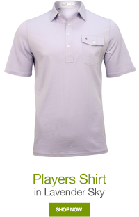 Players Shirt in Lavender Sky