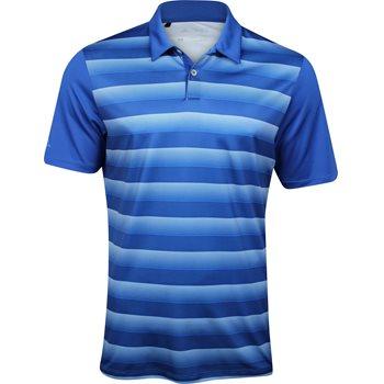 Adidas Block Stripe Polo Short Sleeve Shirt Apparel
