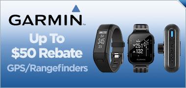 Up To $50 Rebate On Select Garmin GPS/Rangefinders