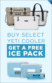 Buy YETI Cooler, Get Free Ice Pack