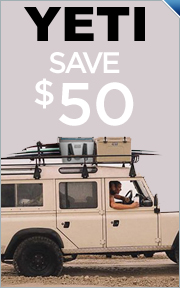 Save $50 On Select YETI Coolers