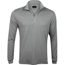 Greg Norman Heathered 1/4 Zip Mock