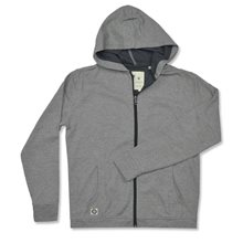 Linksoul Peached Herringbone Full Zip