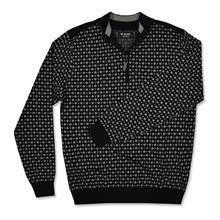G-Mac T-cross 1/4 Zip Sweater
