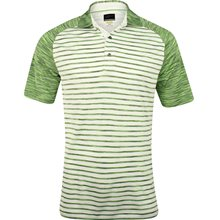 Greg Norman WeatherKnit Stripe Space Dye