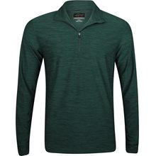 Greg Norman 1/4-Zip Heathered Mock