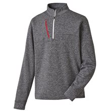 FootJoy Heather Pinstripe Half-Zip