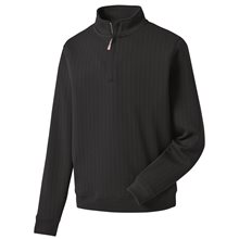 FootJoy Drop Needle Half-Zip Gathered Waist
