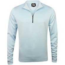FootJoy Prescott Stripe Double Layer Knit Half-Zip