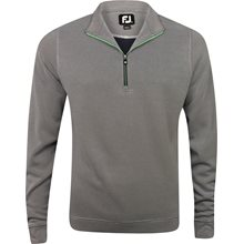 FootJoy Breckenridge Stripe Double Layer Knit Half-Zip