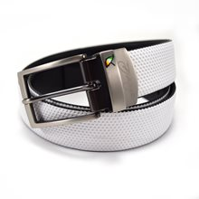 Arnold Palmer Diamond Embossed Reversible Leather