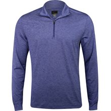 Greg Norman L/S Micro Stripe Heathered ¼ Zip