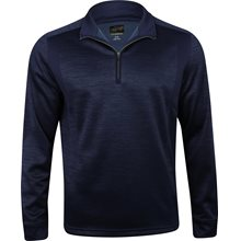 Greg Norman ¼ Zip Heathered Fleece Mock Neck