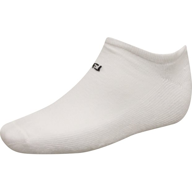 FootJoy ComfortSof Low-Cut White Socks Apparel