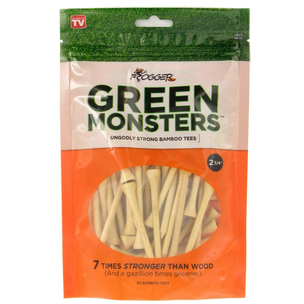 """Frogger Green Monsters 2 3/4"""" Golf Tees Accessories"""
