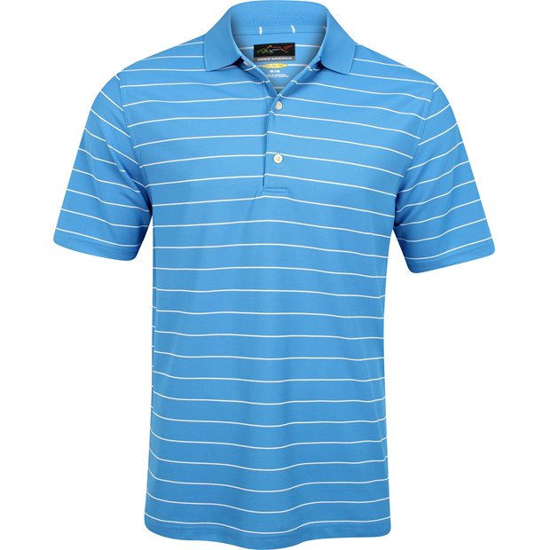 Greg Norman ProTek Micro Pique Stripe Shirt Apparel