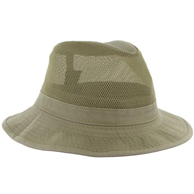 Dorfman Pacific Safari Garment Washed Headwear Apparel