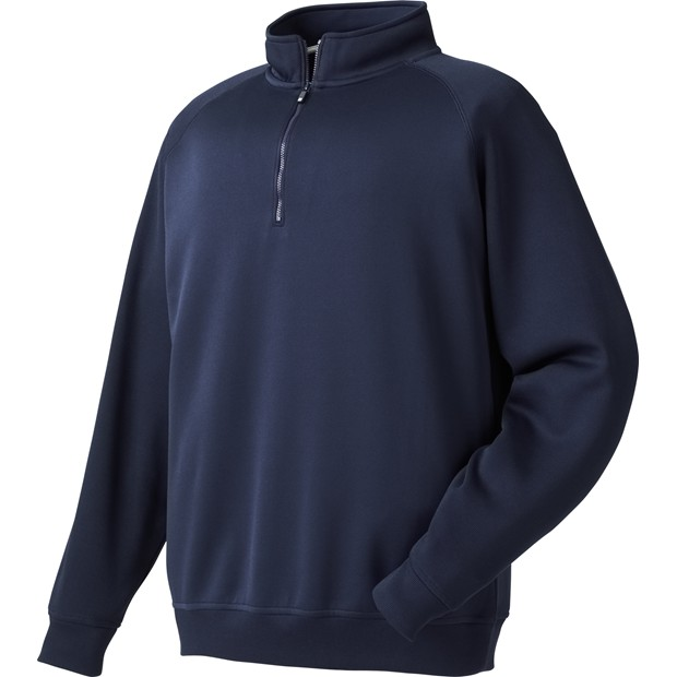 FootJoy Flat Back Rib Half-Zip Outerwear Apparel