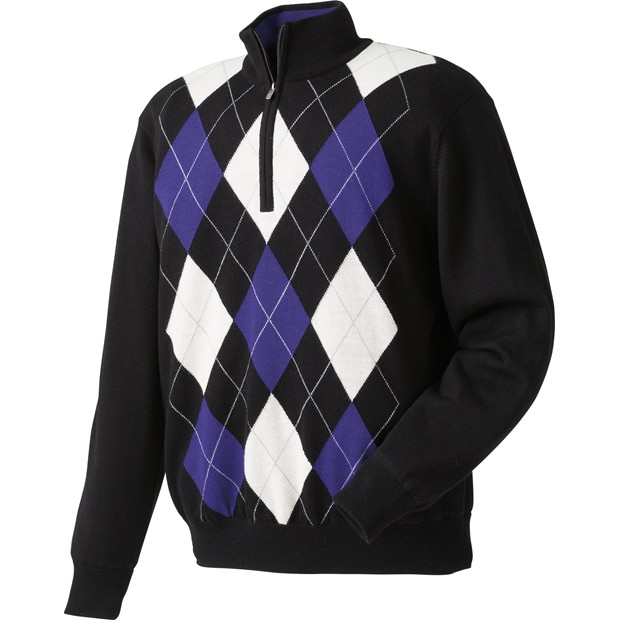 FootJoy Performance Lined Argyle Sweater Outerwear Apparel