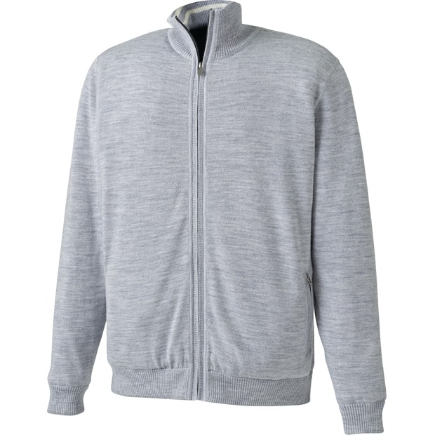 FootJoy Performance Lined Full-Zip Sweater Outerwear Apparel