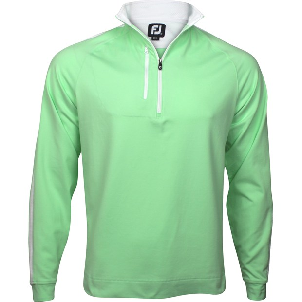 FootJoy Saratoga Brushed Jersey Half-Zip Outerwear Apparel