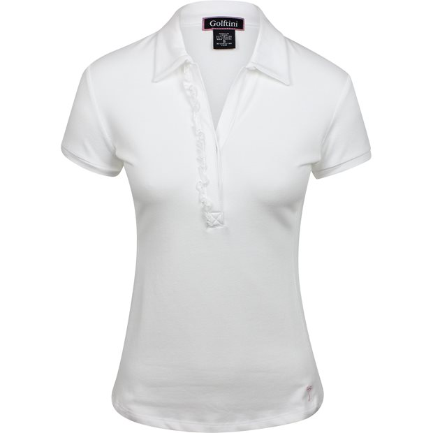 Golftini Short Sleeve Ruffle Shirt Apparel