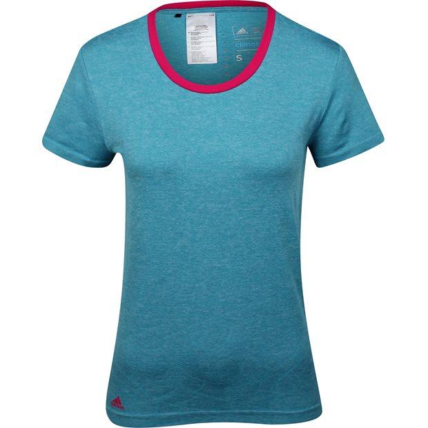 Adidas ClimaCool Tour Seamless Print Shirt Apparel