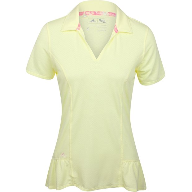 Adidas Tour Peplum Shirt Apparel