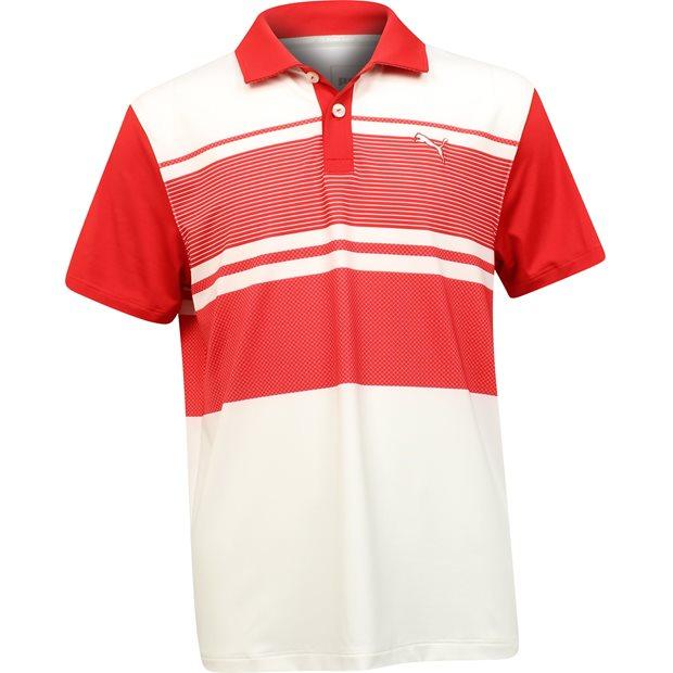 Puma Youth Pattern Block Shirt Apparel