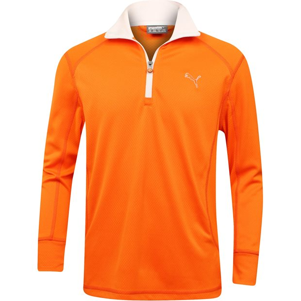 Puma Youth Long Sleeve 1/4 Zip Outerwear Apparel