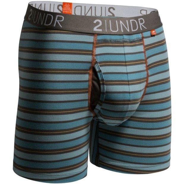 2UNDR Swingshift Stripes Base Layer Apparel