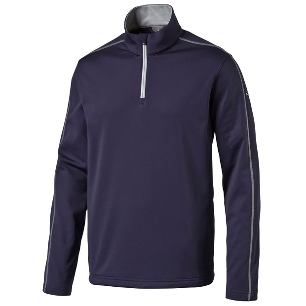 Puma 1/4 Zip Core Fleece Popover Outerwear Apparel
