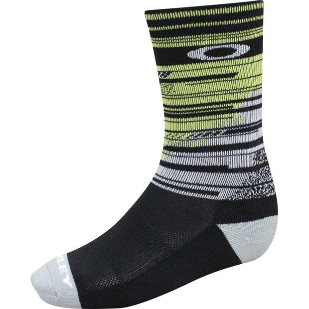 Oakley Crew Print Golf Socks Apparel