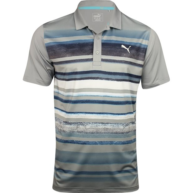 Puma Washed Stripe PWRCool Shirt Apparel