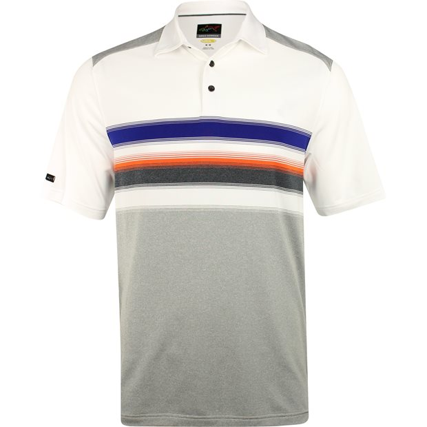 Greg Norman Engineered Stripe Stretch Shirt Apparel